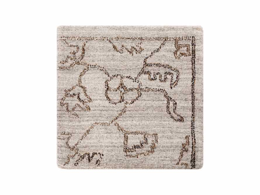 Jaden Hand Loomed Rug Swatch in Light Grey, slide 1 of 1