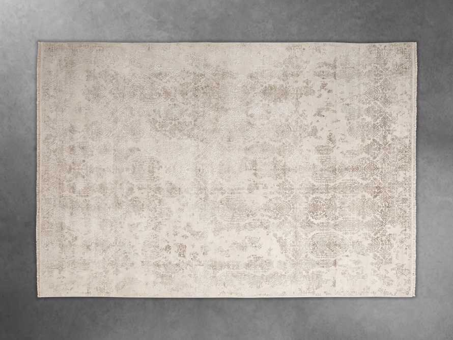 Kamya 6' x 9' Hand-Knotted Rug in Ivory, slide 3 of 4
