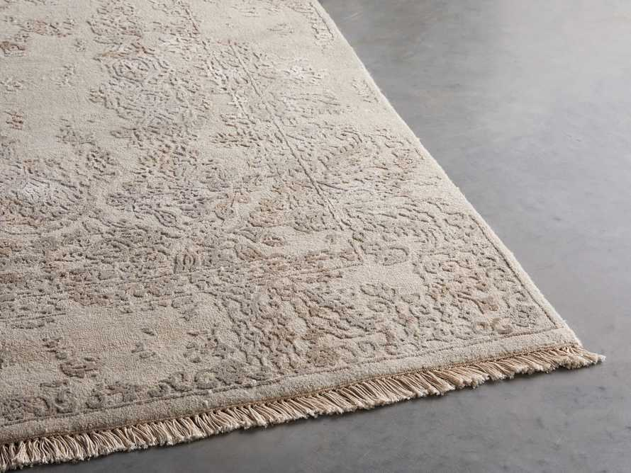 Kamya 6' x 9' Hand-Knotted Rug in Ivory, slide 4 of 4