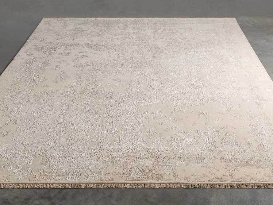Kamya 6' x 9' Hand-Knotted Rug in Ivory, slide 2 of 4