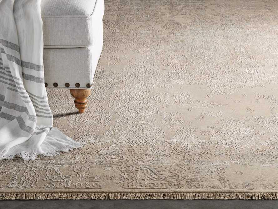 Kamya 6' x 9' Hand-Knotted Rug in Ivory, slide 1 of 4