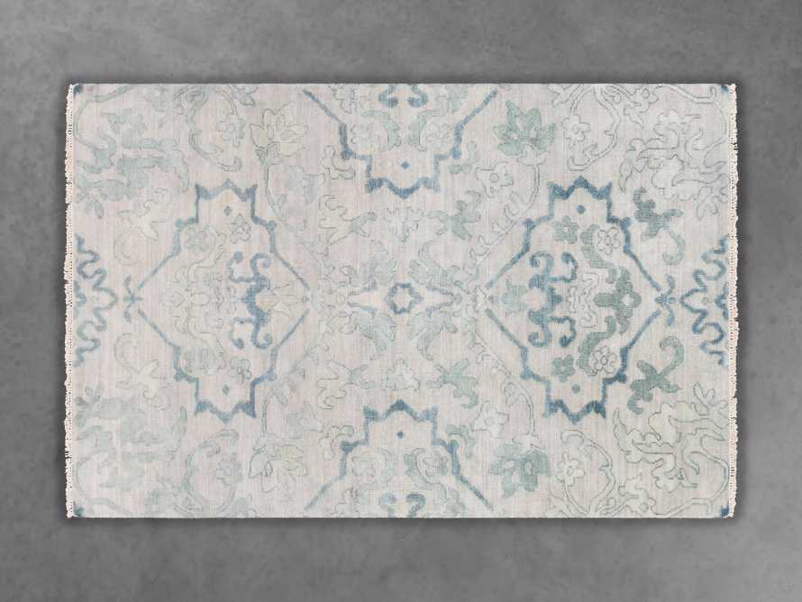 Kagiso 9' X 13' Hand Knotted Medallion Rug In Blue, slide 3 of 3
