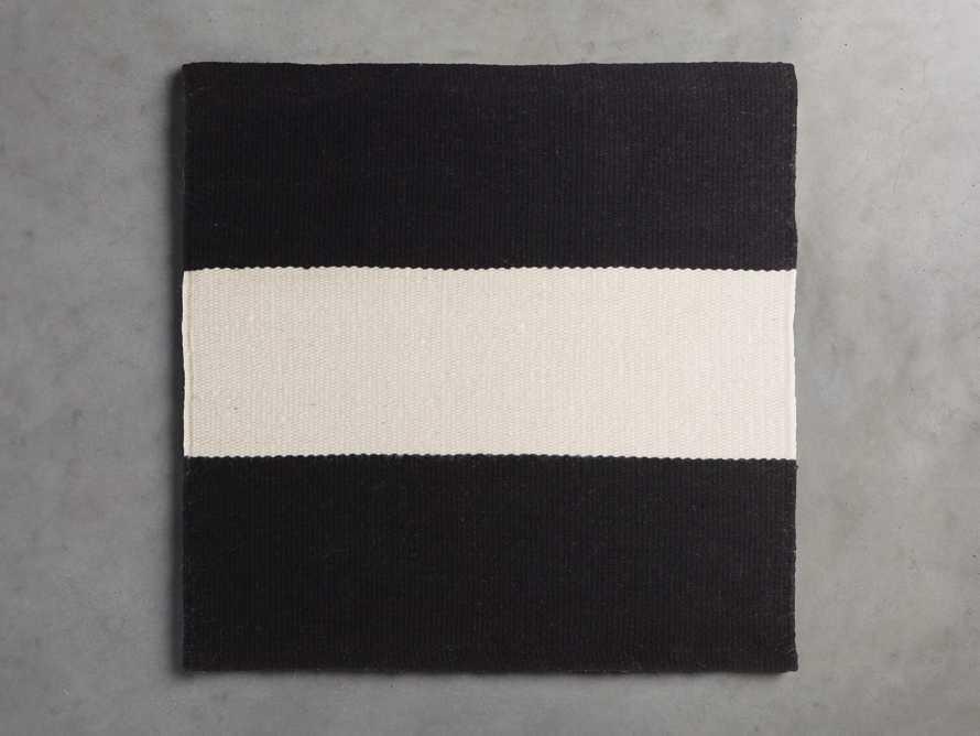 Lacosta Black Performance Rug Swatch, slide 1 of 1