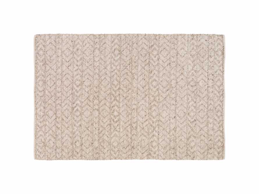 Lacie 6' x 9' Handwoven Rug in Natural