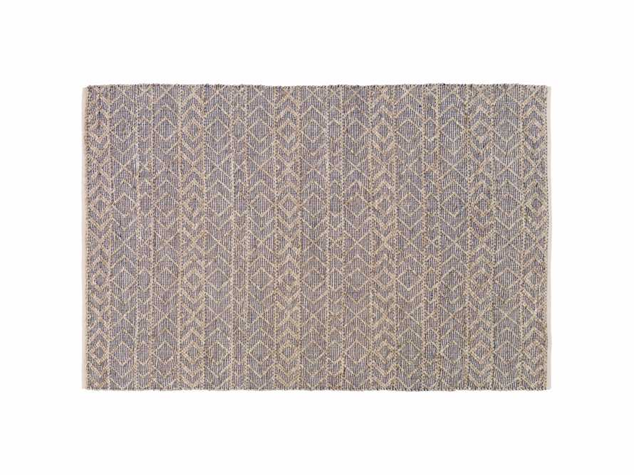 Lacie 8' x 10' Handwoven Rug in Blue, slide 5 of 9