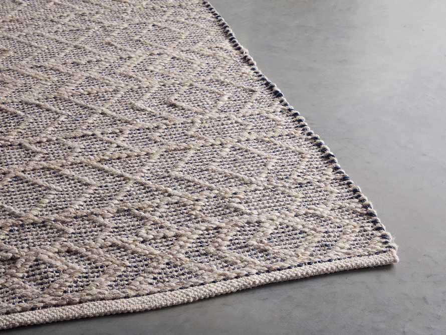 Lacie 8' x 10' Handwoven Rug in Blue, slide 4 of 9