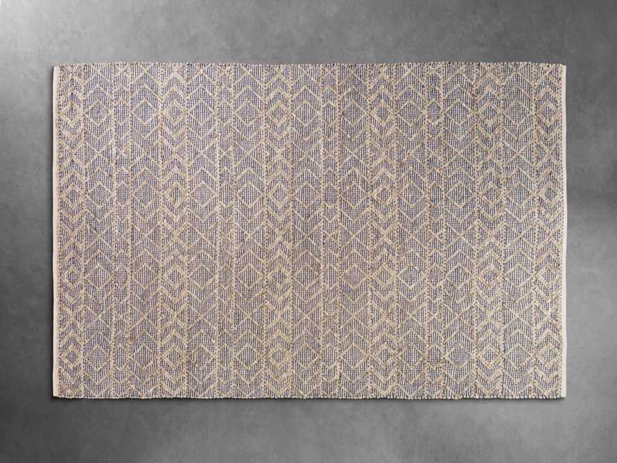 Lacie 8' x 10' Handwoven Rug in Blue, slide 3 of 9
