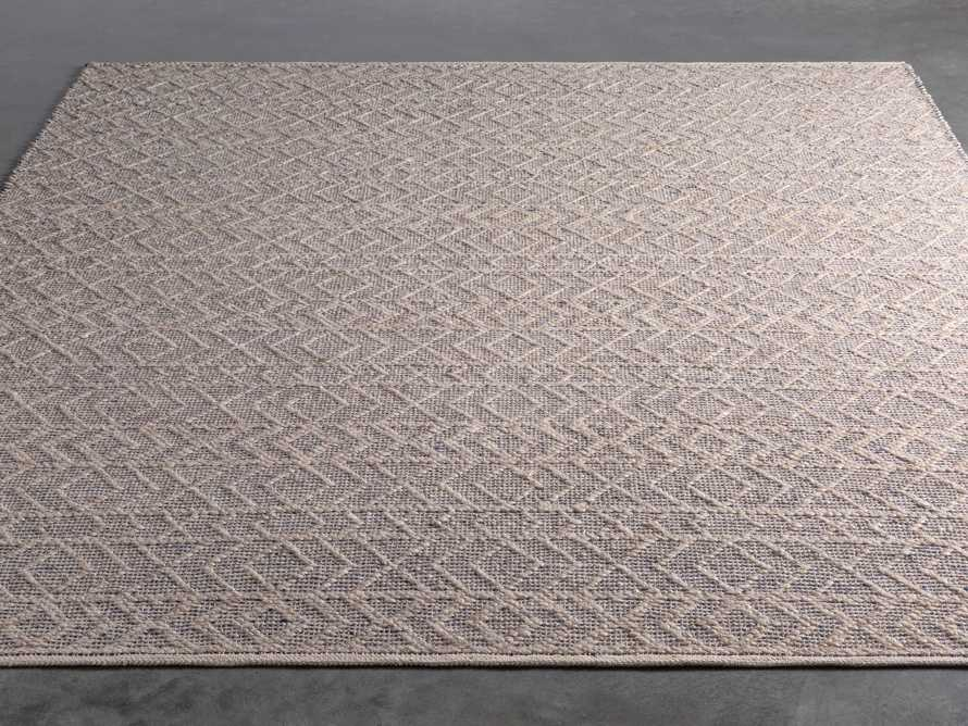 Lacie 8' x 10' Handwoven Rug in Blue, slide 2 of 9