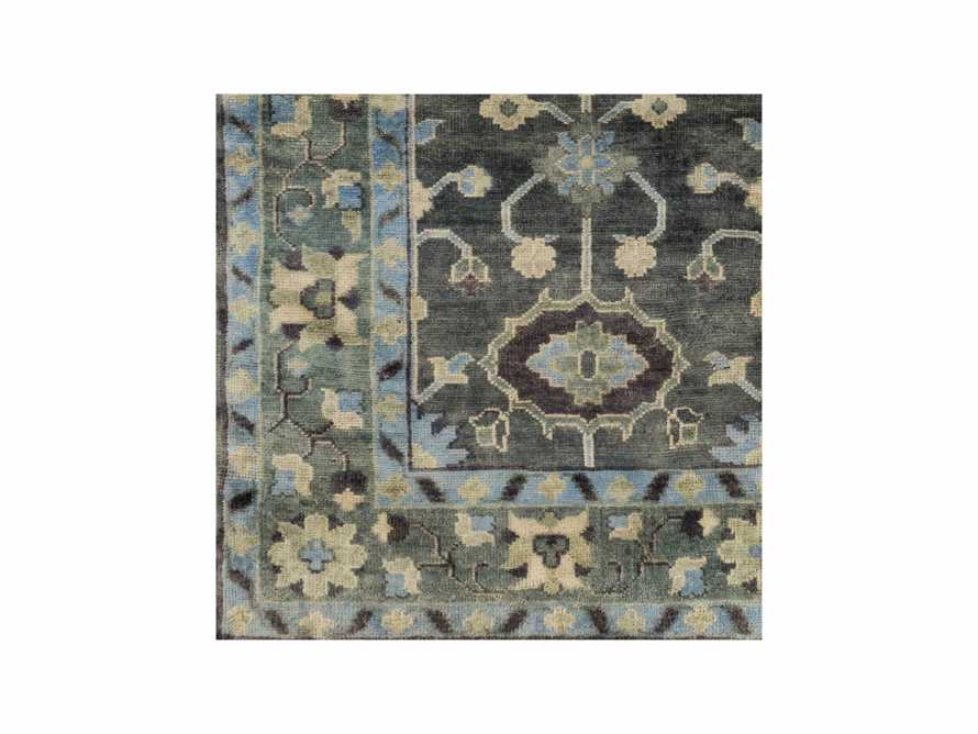 """Leanna Hand Knotted 18"""" Rug Swatch"""