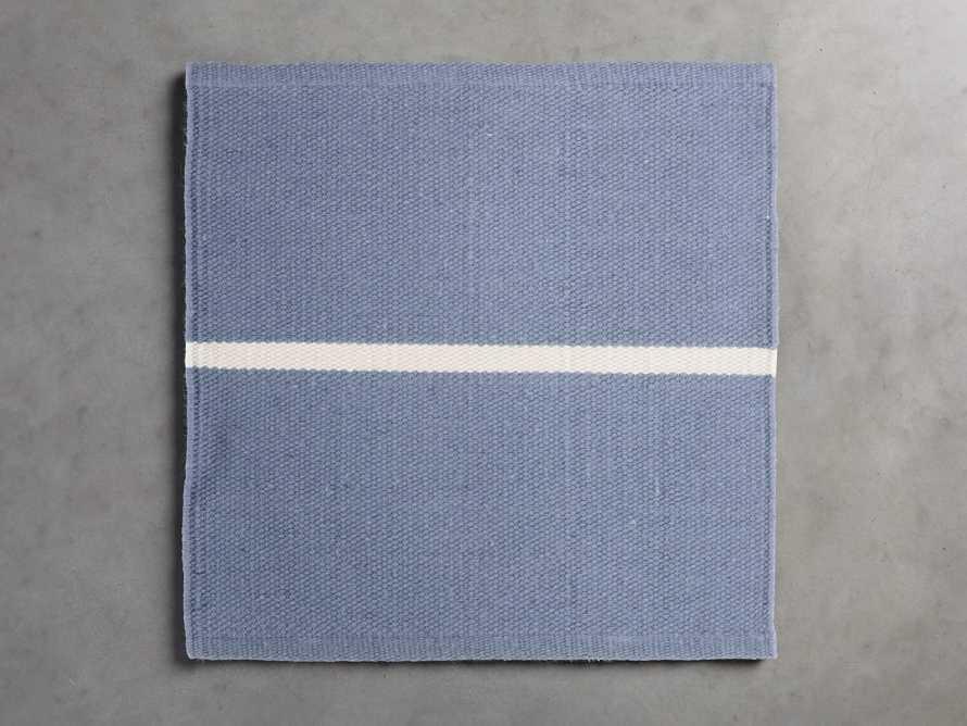 Middleport Blue Performance Rug Swatch, slide 1 of 1