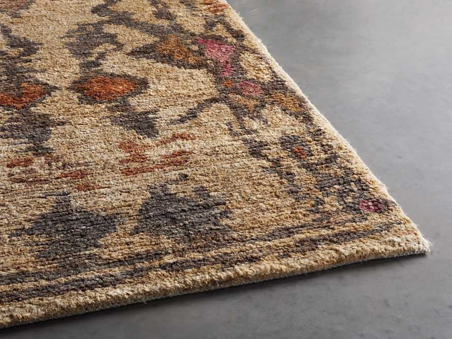 Naria 8' x 10' Hand-Knotted Rug in Rust, slide 4 of 7