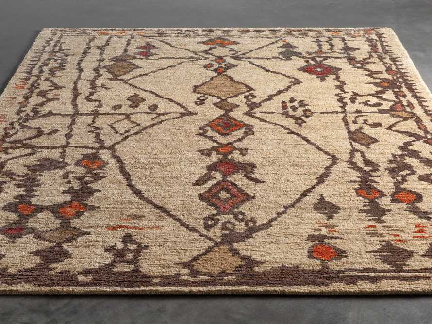 Naria 8' x 10' Hand-Knotted Rug in Rust, slide 3 of 7