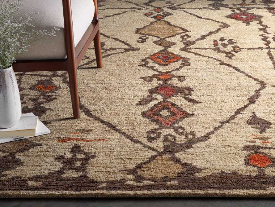 Naria 8' x 10' Hand-Knotted Rug in Rust, slide 1 of 7