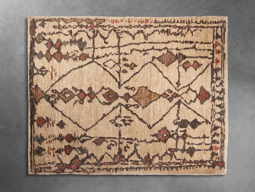 Naria 8' x 10' Hand-Knotted Rug in Rust, slide 2 of 7