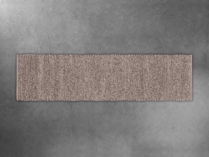 """Solana Hand Woven 2'6"""" x 10' Runner in Grey, slide 1 of 1"""