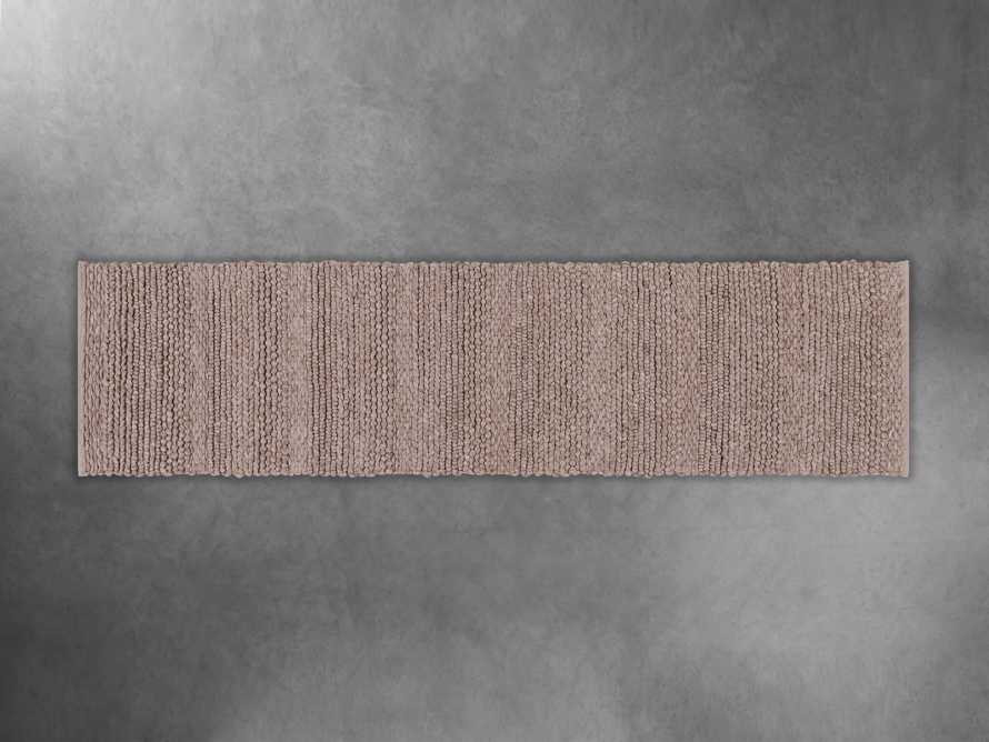 "Solana Hand Woven 2'6"" x 10' Runner in Taupe, slide 1 of 1"