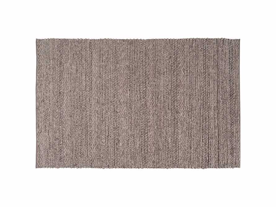 Solana 3' X 5' Hand Woven Rug in Grey, slide 3 of 3