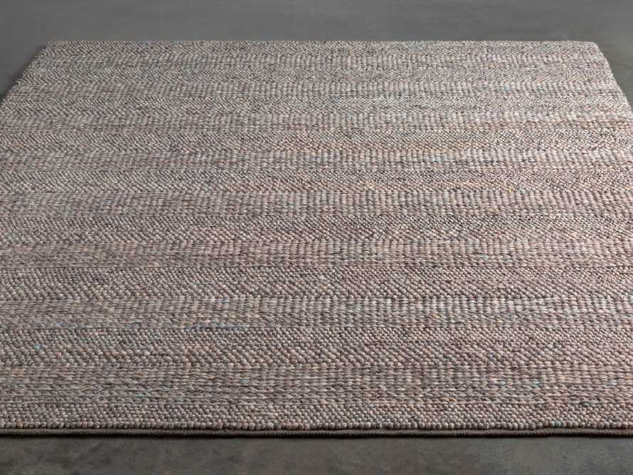 Solana 3' X 5' Hand Woven Rug in Grey, slide 2 of 3