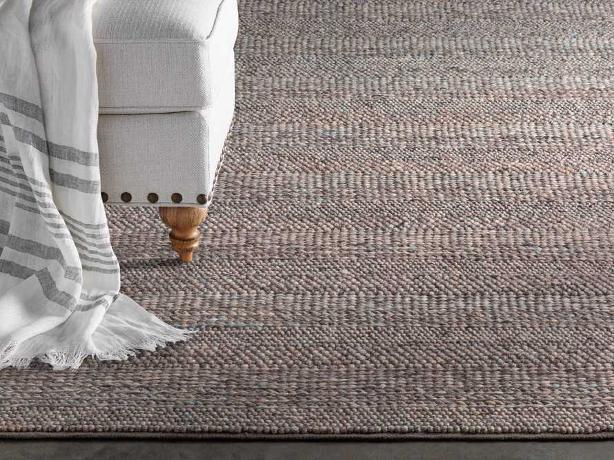 Solana 3' X 5' Hand Woven Rug in Grey, slide 1 of 3
