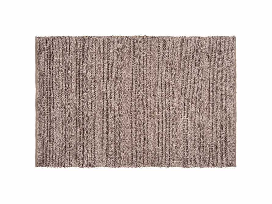 Solana 3' X 5' Hand Woven Rug in Taupe