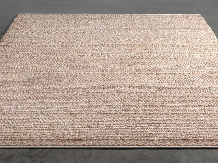 Solana 8' X 10' Hand Woven Rug in Natural, slide 2 of 7