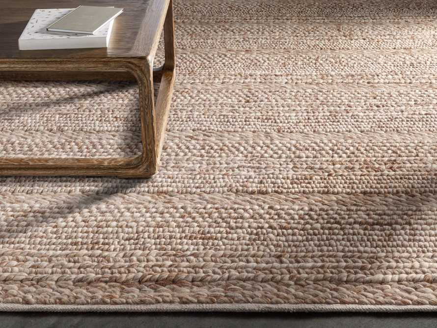 Solana 8' X 10' Hand Woven Rug in Natural, slide 1 of 7