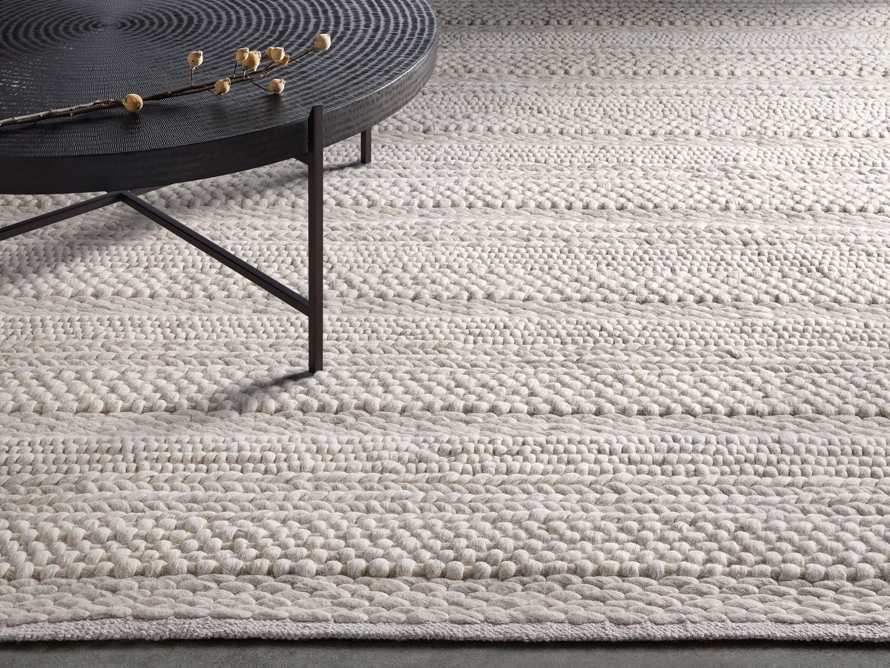 Solana 9' X 13' Hand Woven Rug in Ivory Product Image