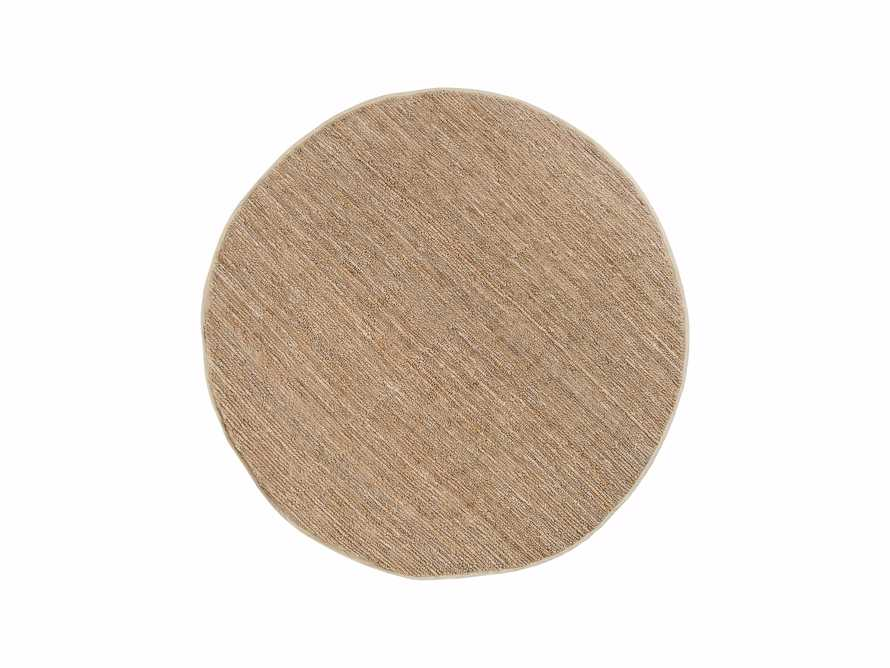 Theo 8' Round Jute Rug in Camel