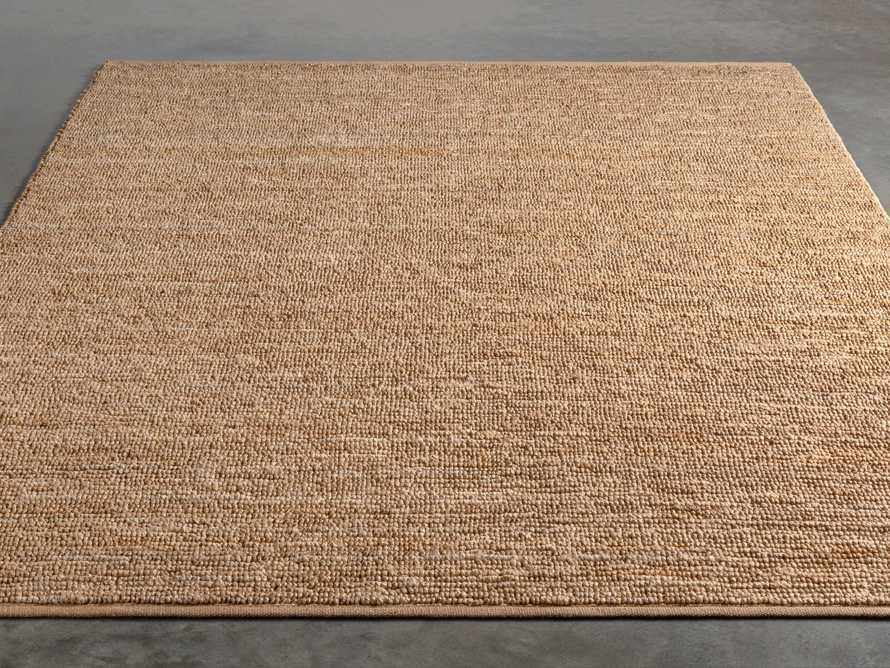 Theo 8' x 11' Jute Rug in Camel, slide 2 of 7