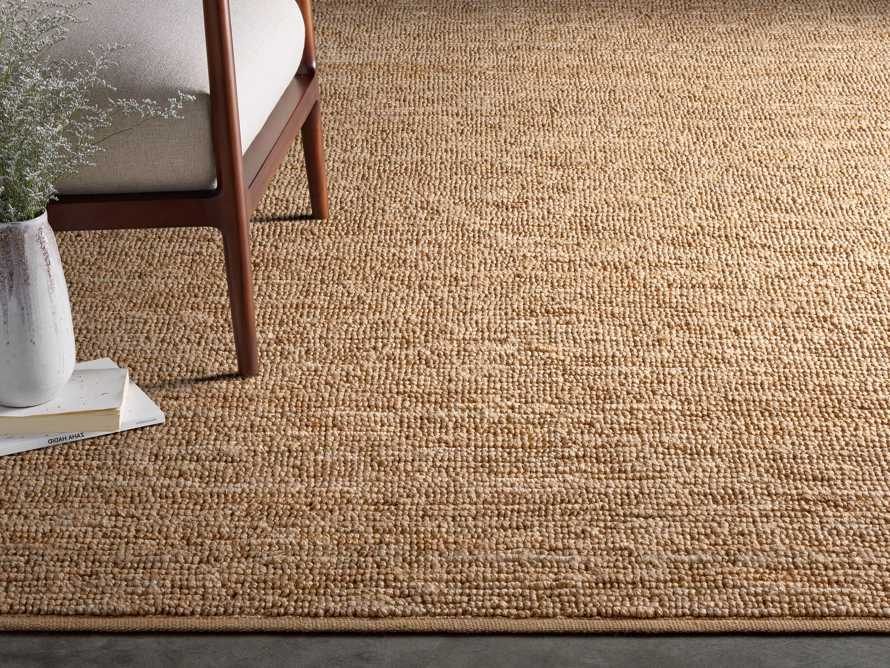 Theo 8' x 11' Jute Rug in Camel, slide 1 of 7