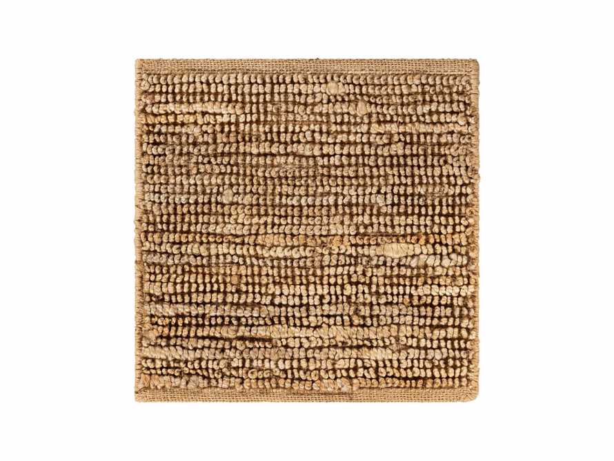"Theo Jute 18"" Rug Swatch in Camel, slide 1 of 1"