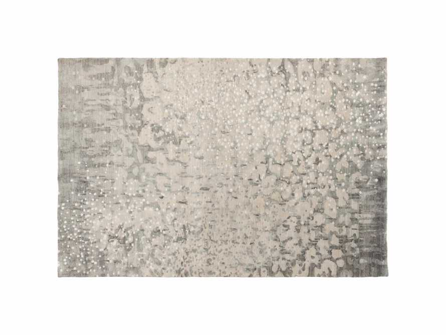 Yumi 5' X 8' Hand Knotted Rug in Grey
