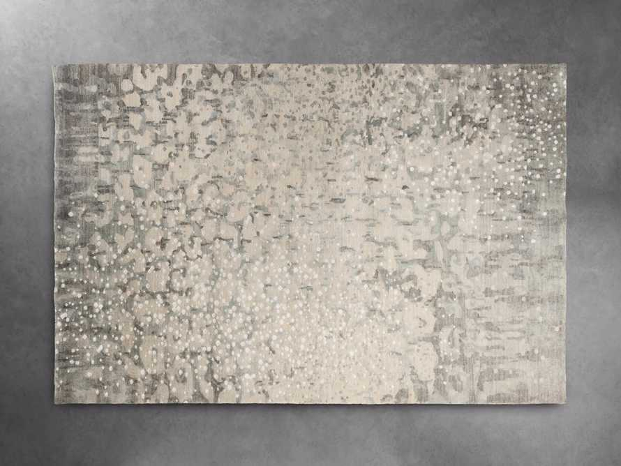 Yumi 5' X 8' Hand Knotted Rug in Grey, slide 3 of 4
