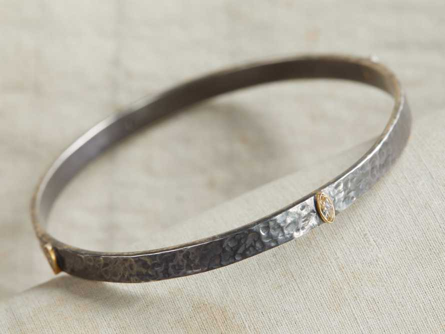 Diamond Navette Bangle