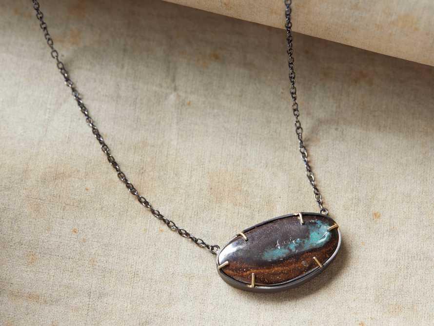 Boulder Opal Necklace, slide 1 of 3