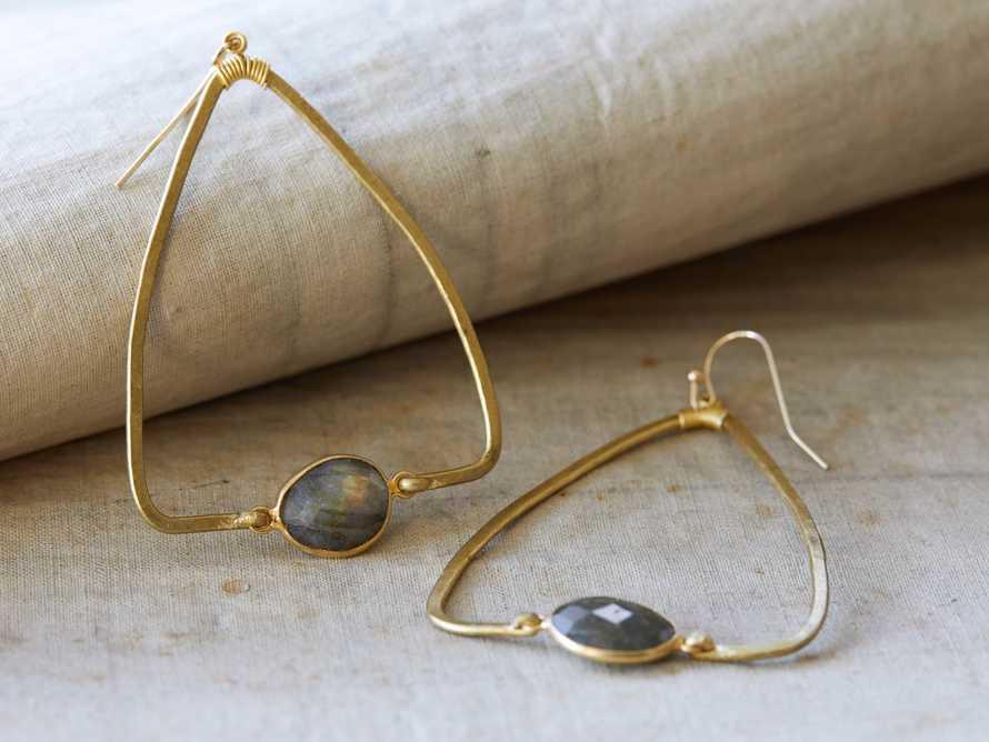 Adalene Labradorite Earrings, slide 1 of 3
