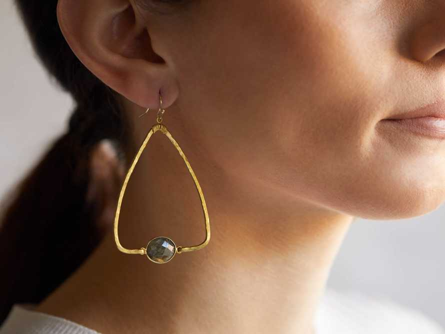 Adalene Labradorite Earrings, slide 2 of 3