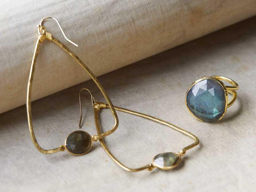 Adalene Labradorite Earrings, slide 3 of 3