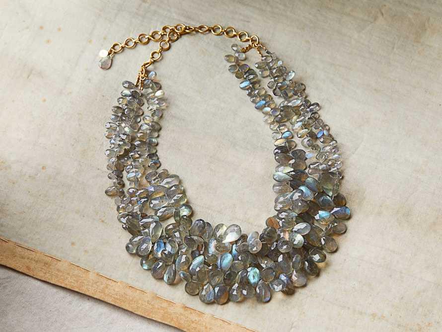 Asena Multi Strand Necklace, slide 1 of 4