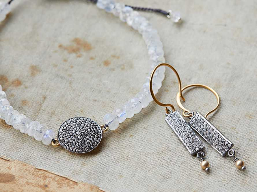 Diamond Disc Bracelet