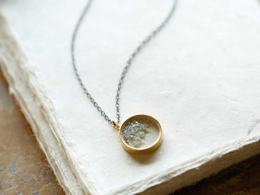 Diamond Shaker Pendant Necklace, slide 1 of 4