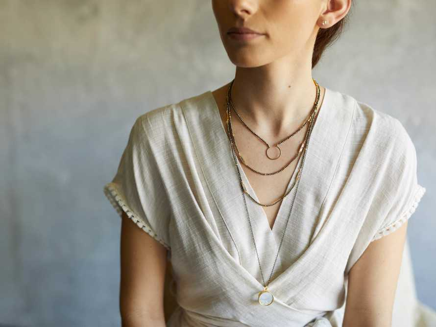 Diamond Shaker Pendant Necklace, slide 3 of 4