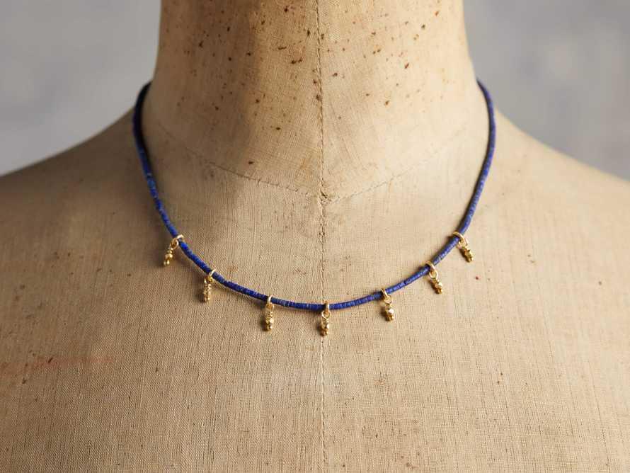 Divya Lapis Necklace, slide 2 of 3