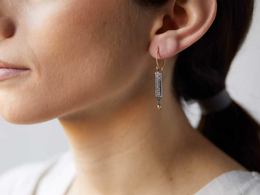 Elize Bar Earrings, slide 3 of 5