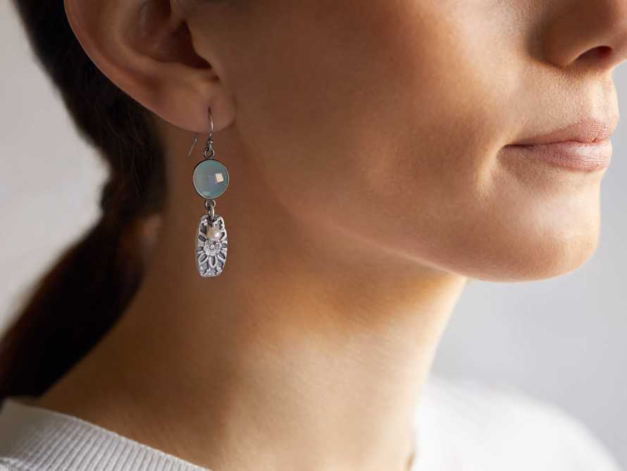 Evalia Earrings, slide 2 of 2