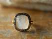 Evening Star Moonstone Ring Size 6