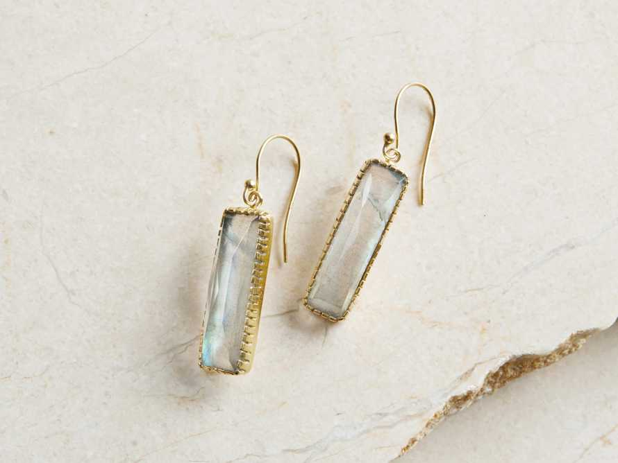 Gaia Labradorite Dangle Earrings