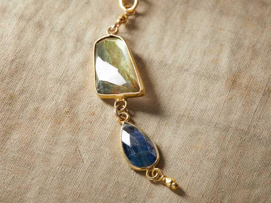 Indira Labradorite Necklace, slide 2 of 4