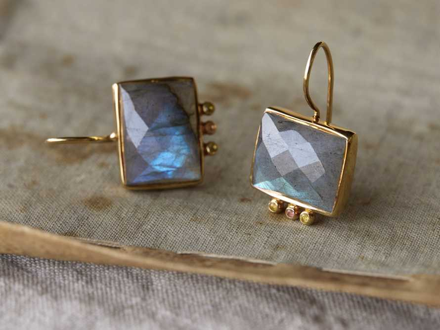 Kaia Labradorite Earrings, slide 1 of 2