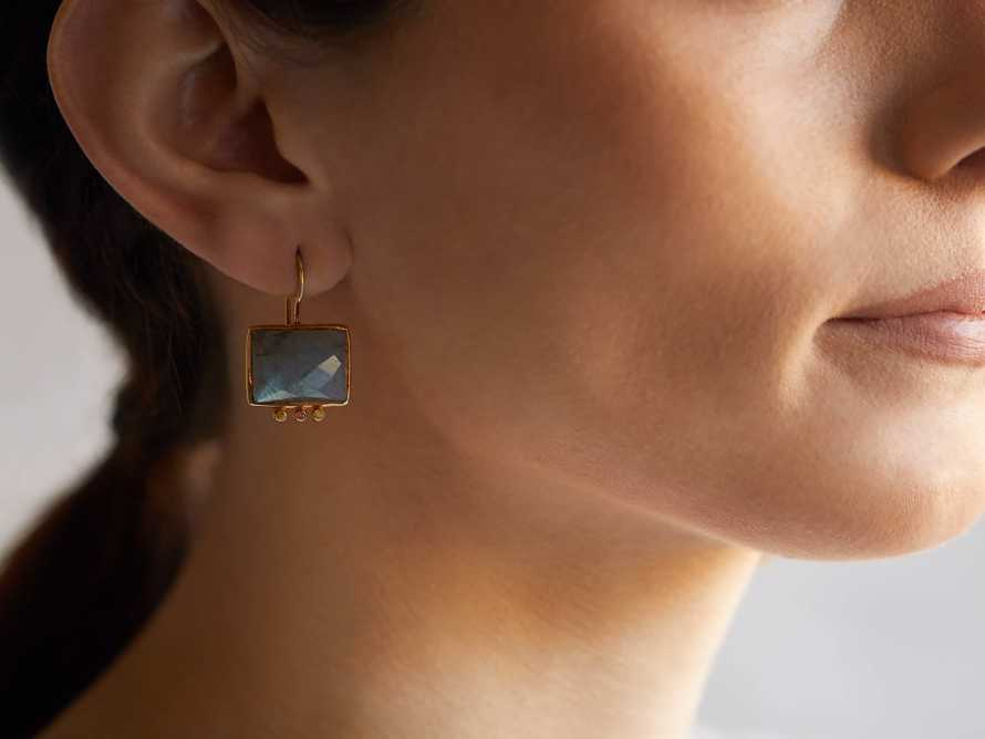 Kaia Labradorite Earrings, slide 2 of 2